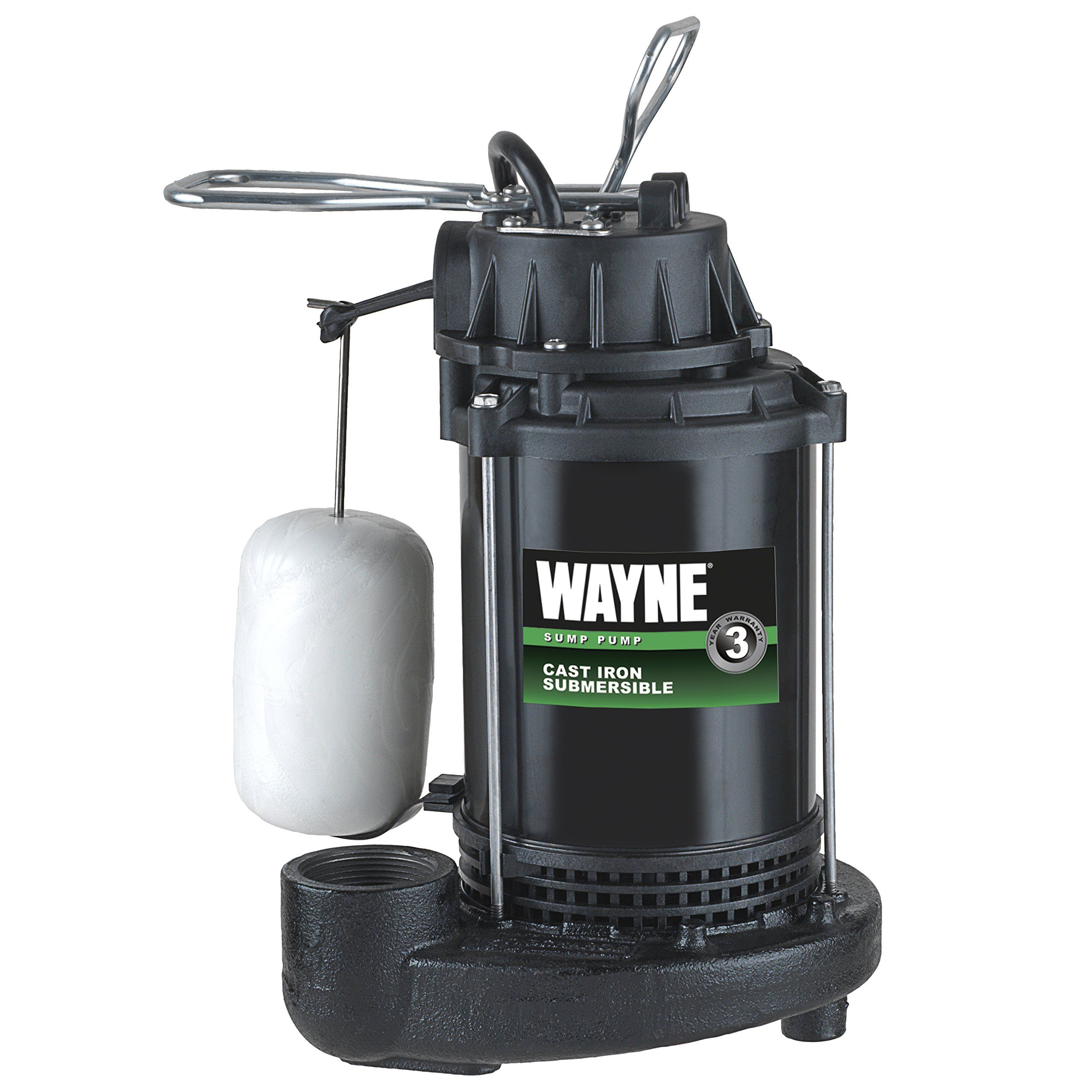 Wayne Cdu790 1 3 Hp Submersible Cast Iron And Steel Sump Pump With Integrated Vertical Float Switch Read More At The Im In 2020 Submersible Sump Pump Sump Pump Sump
