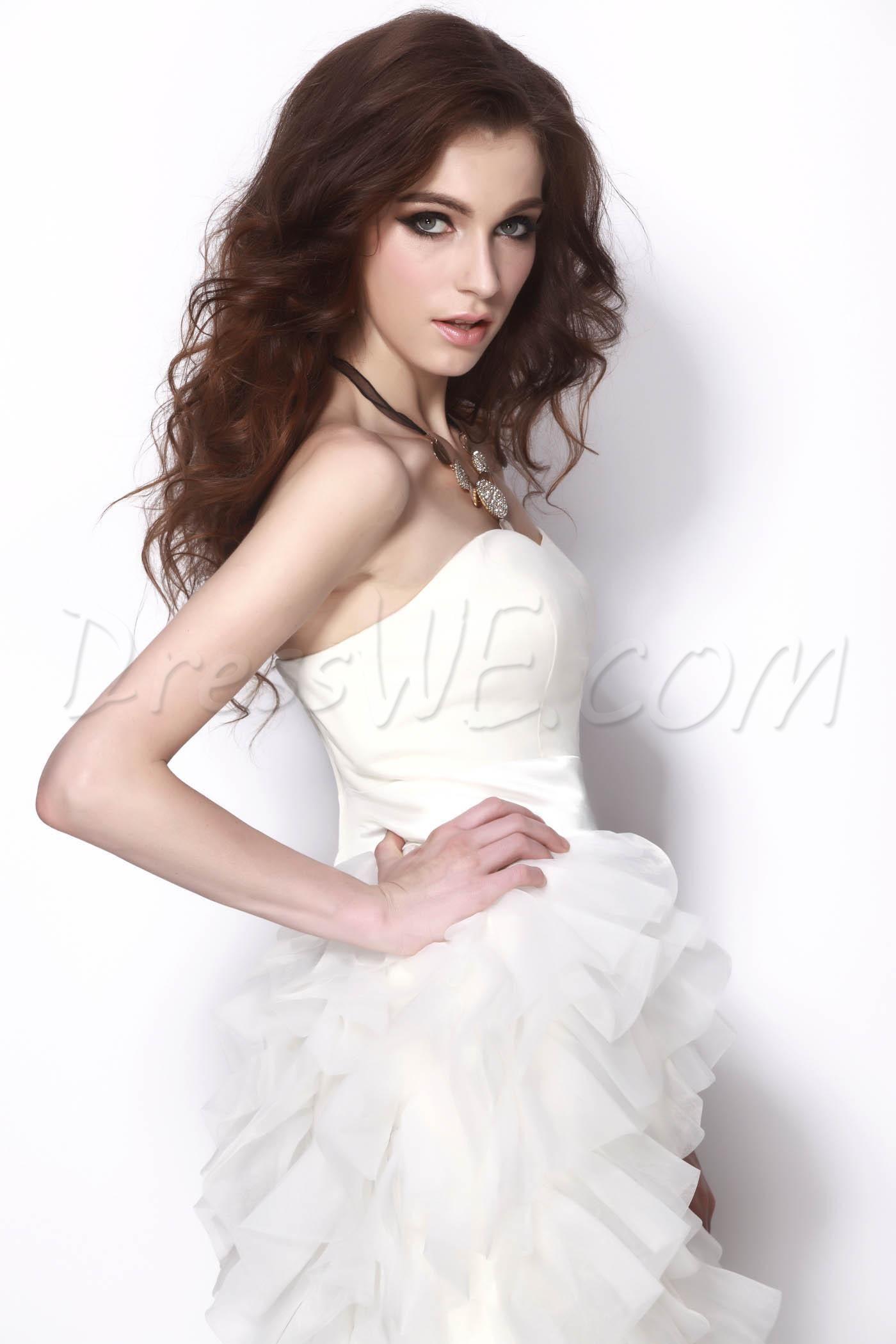 Elegant aline sweetheart minishort natilieus homecoming dress