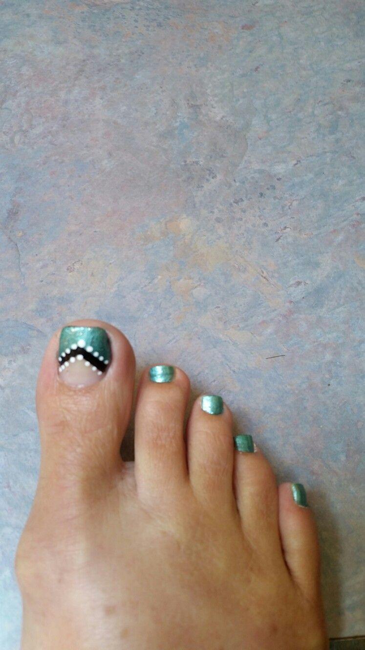 My toenail design