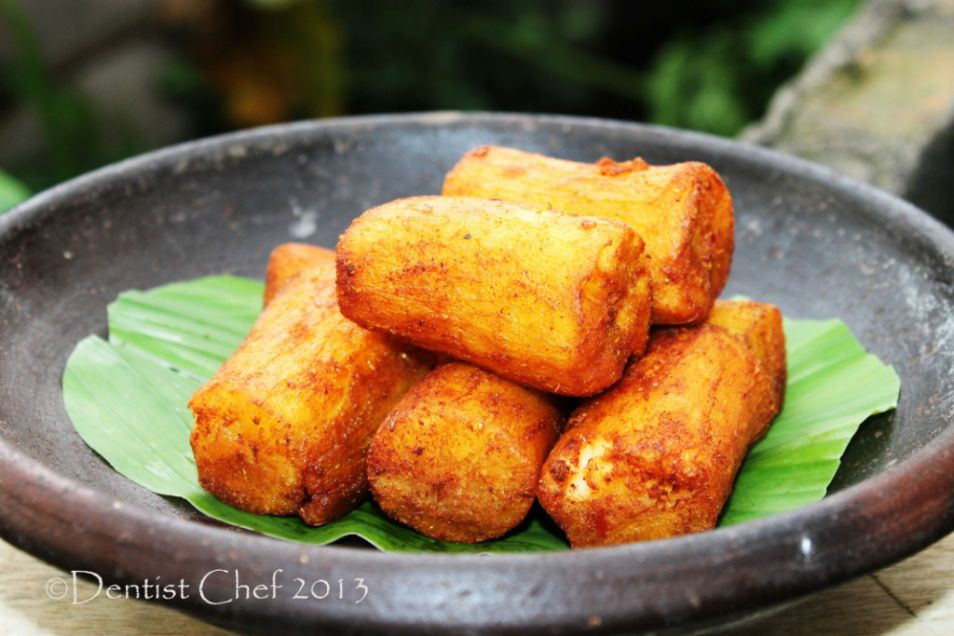 Cassava Recipe Deep Fried Spicy Seasoned Cassava For Morning Carbs Super Supper Resep Singkong Goreng Berbumbu Resep Menggoreng