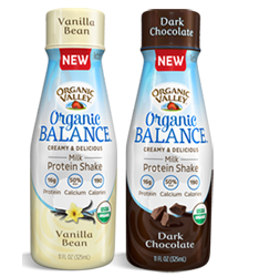 NEW Organic Valley MILK PROTEIN SHAKE Daily Instant Win Game! They are giving away 100 prizes a day! on http://hunt4freebies.com