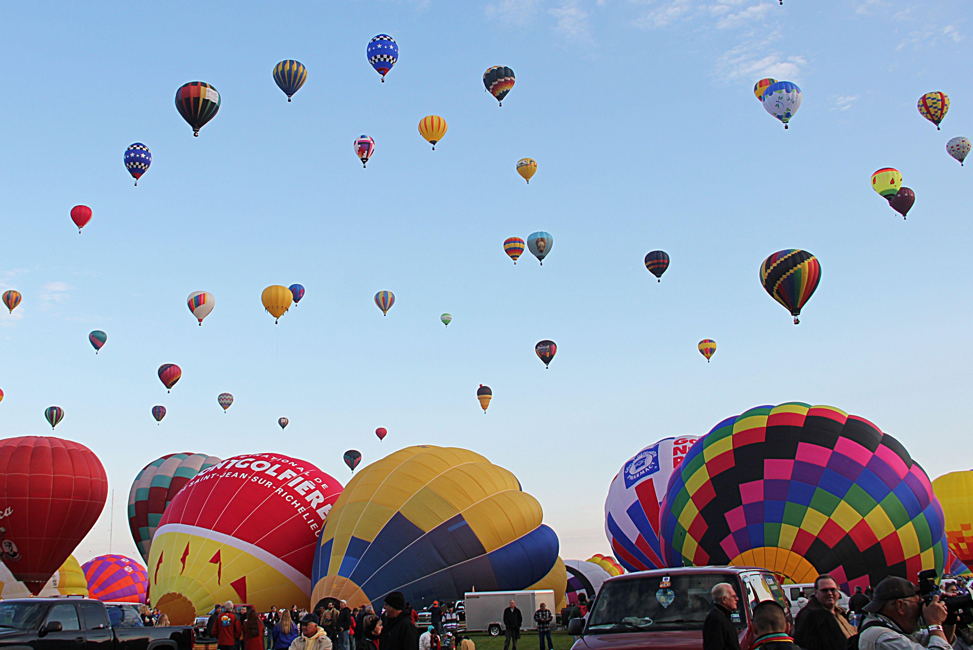 New Mexico Hot Air Balloon Festival Hot air balloon