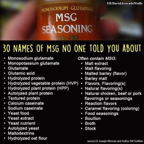 ways to avoid MSG, more widely used than you think