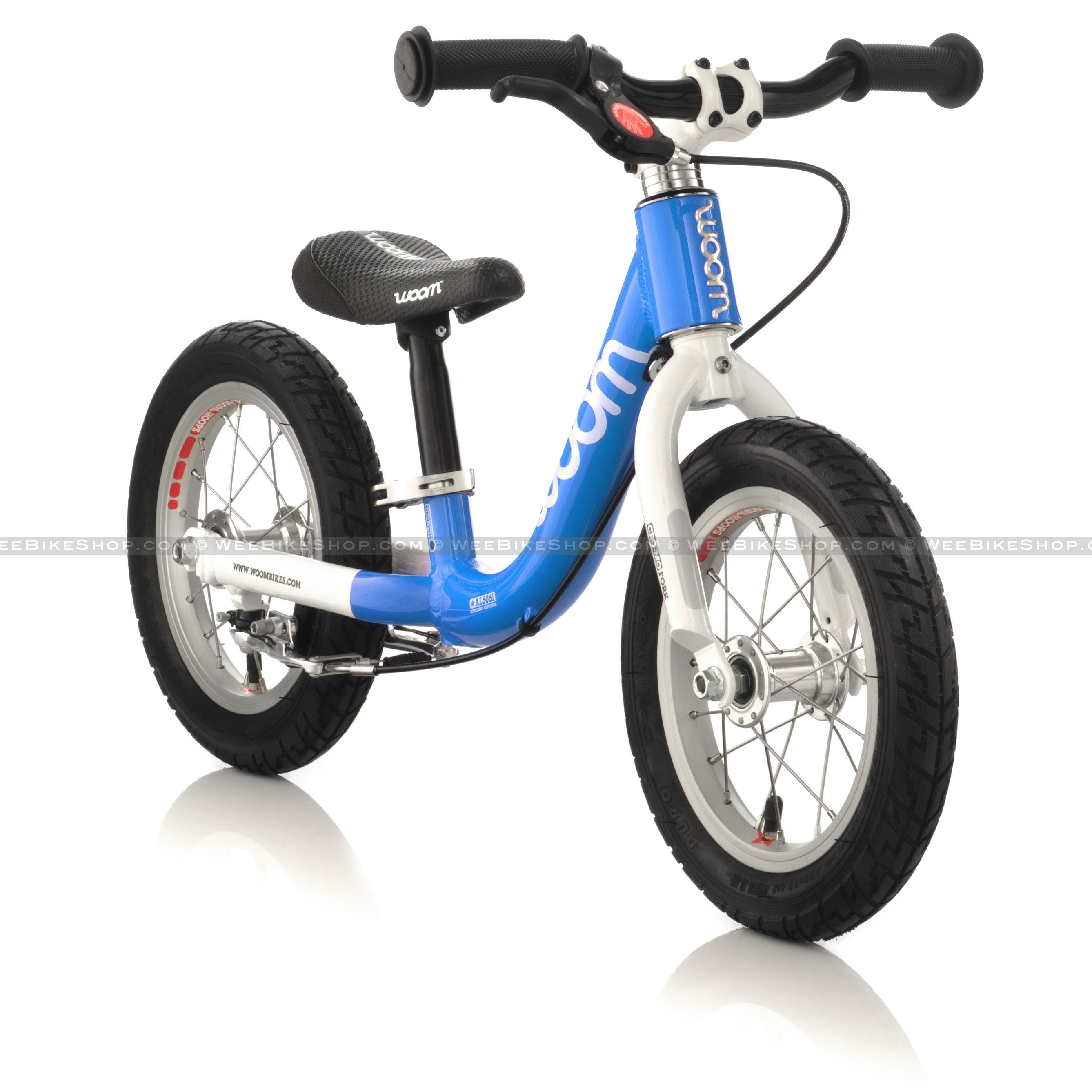 Balance bike with suspension Fahrrad
