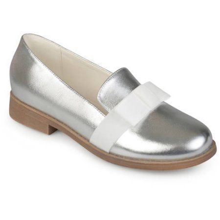 485dd7ed31e Brinley Co. Womens Bow Faux Leather Loafer Flats