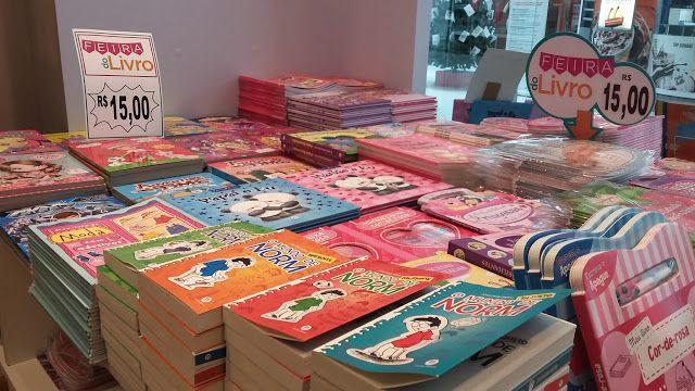 SOCIAIS CULTURAIS E ETC.  BOANERGES GONÇALVES: Livraria Nobel promove feira de livros no Polo Sho...