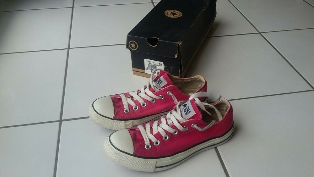 baskets converse femme taille 38