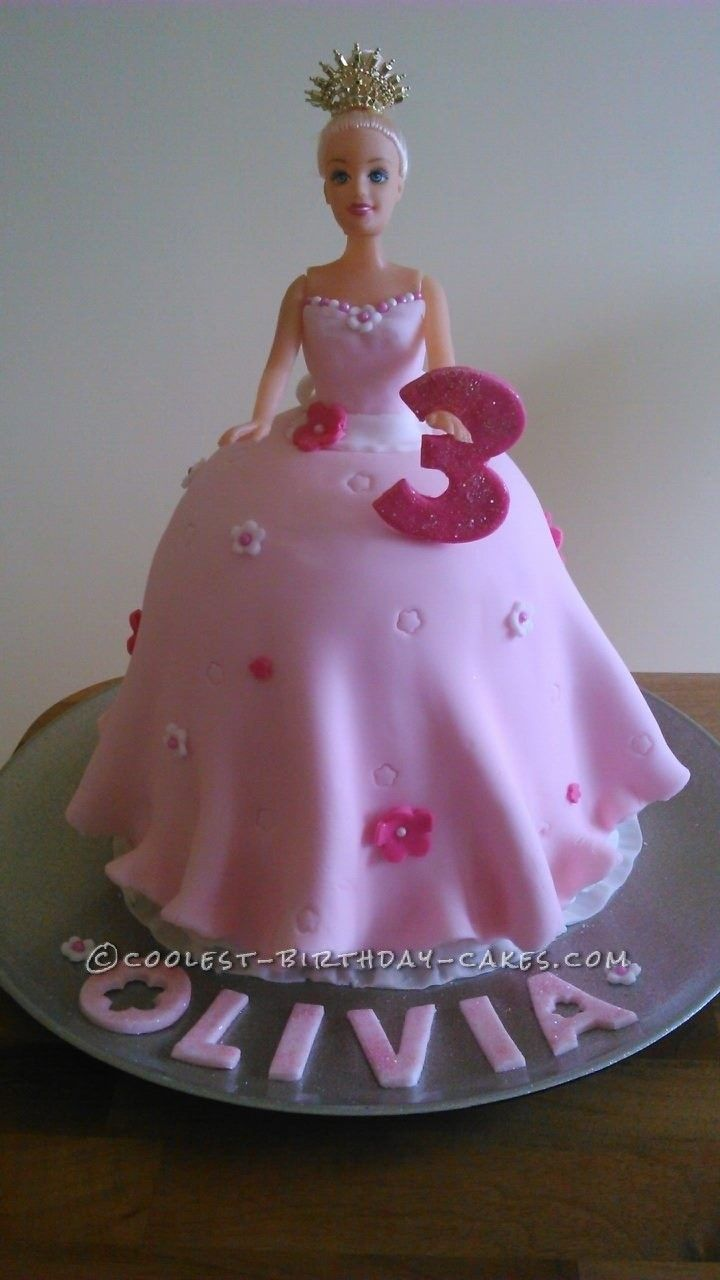Coolest Princess Barbie Birthday Cake This Website Is The Pinterest Of Ideas