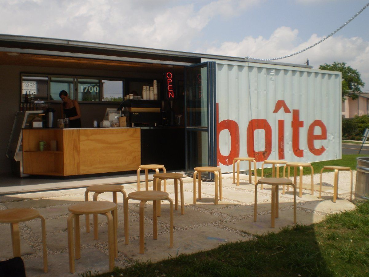 Unique Concept Shipping Container Coffee Houses Design Architecture ...