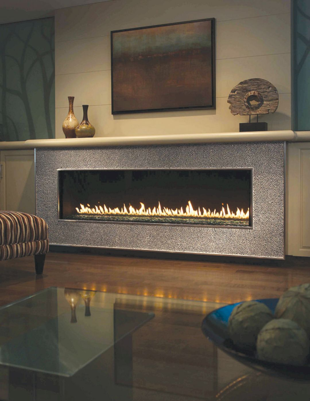 Linear Fireplace Designs