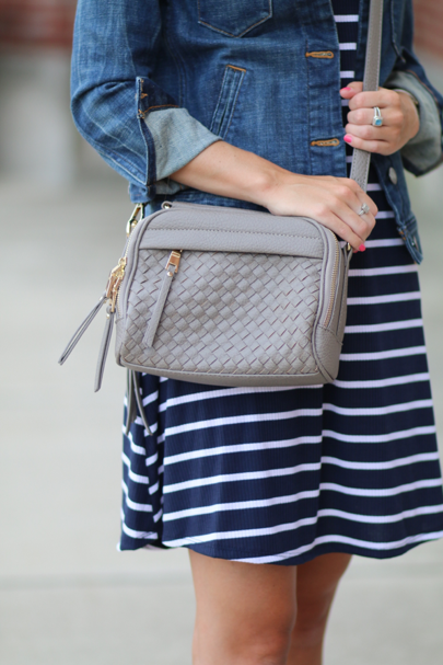 This little crossbody is only $50 & is super spacious (it can even hold my…