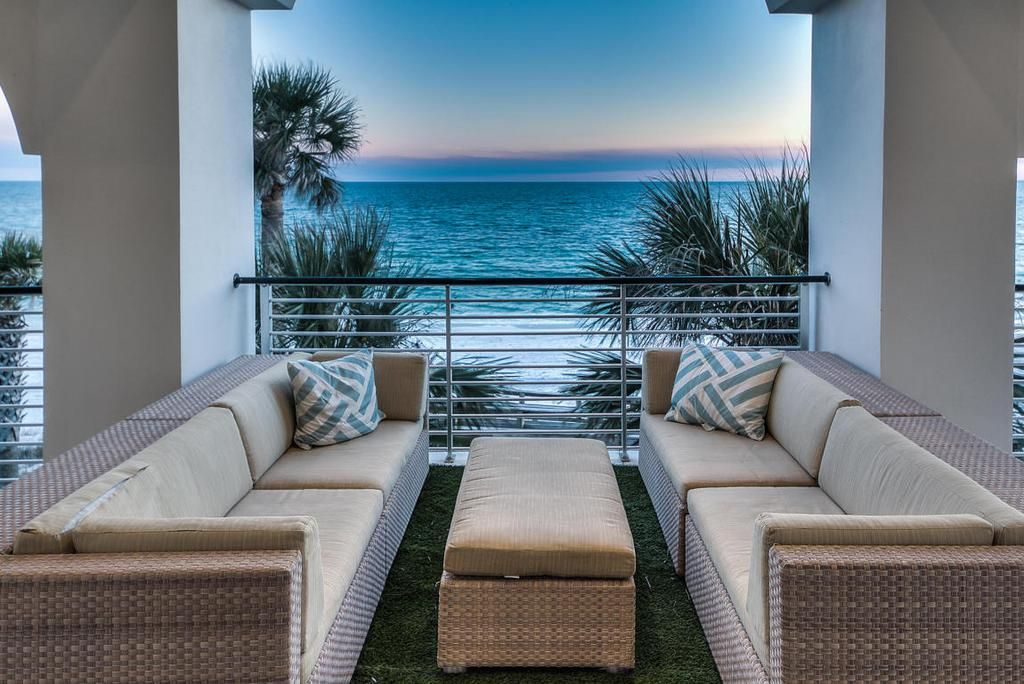 Beach house 30a Florida home outdoor living ocean front ... on Dune Outdoor Living  id=99027