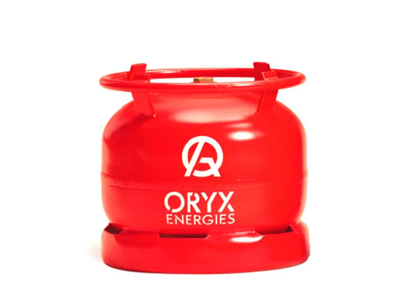 Oryx Gas Refill 6kg Gas Refill Bottle