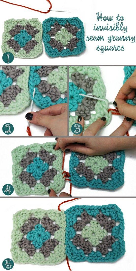 Clase. Como unir dos Circulos de Crochet - Patrones Crochet | My ...