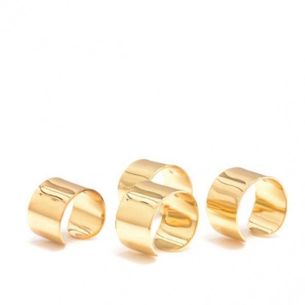 MAISON MARTIN MARGIELA -Four knuckleduster rings -THE SHAPE OF THE SEASON