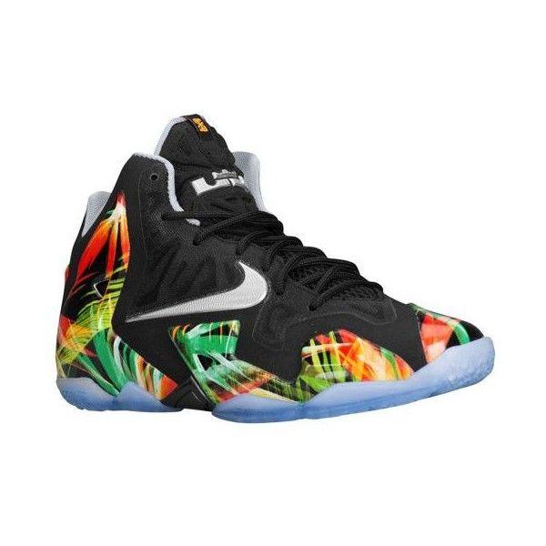4b2b76e4366e Nike LeBron XI Boys  Grade School ( 140) ❤ liked on Polyvore featuring shoes  and nike