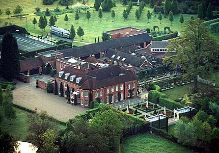 this is an overview of elton johns mansion as you can see it is