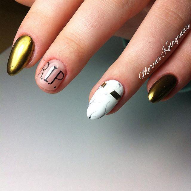 Broken Nail Rip Nail Design Manikyur Nogti Nogot