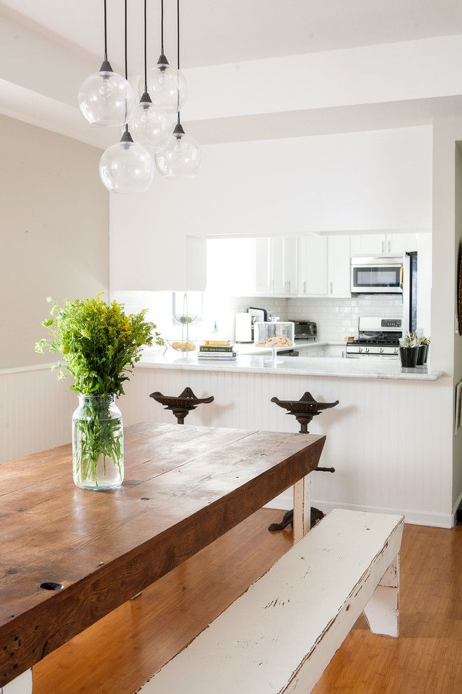 Kitchen To Dining Room Pass Through Pleasing Tractor Seat Stool Dining Room Transitional With Airy Beadboard Inspiration