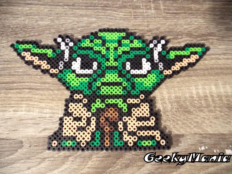 Baby Yoda Standing Perler Beads Pokemon Perlen Perler Bead