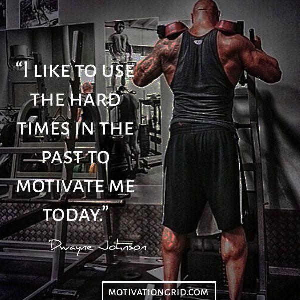 Hard times Dwayne Johnson motivational image wallpaper ...