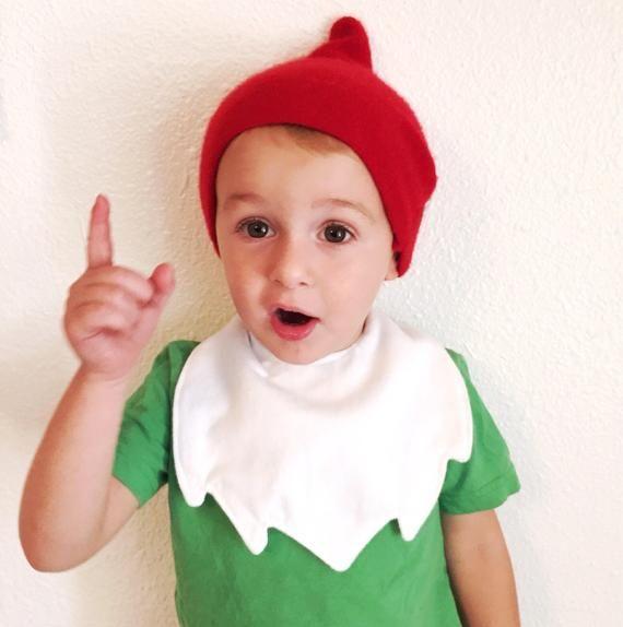 Gnome Costume Bib (Petal or Beard) #gnomecostume