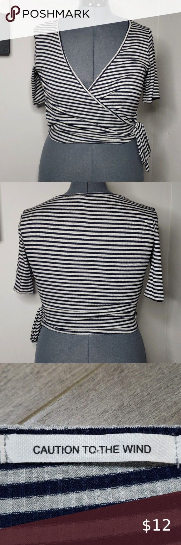 just added this listing on Poshmark Caution to the Wind Crop Top  Large To The WindI just added this listing on Poshmark Caution to the Wind Crop Top  Large To The Wind C...