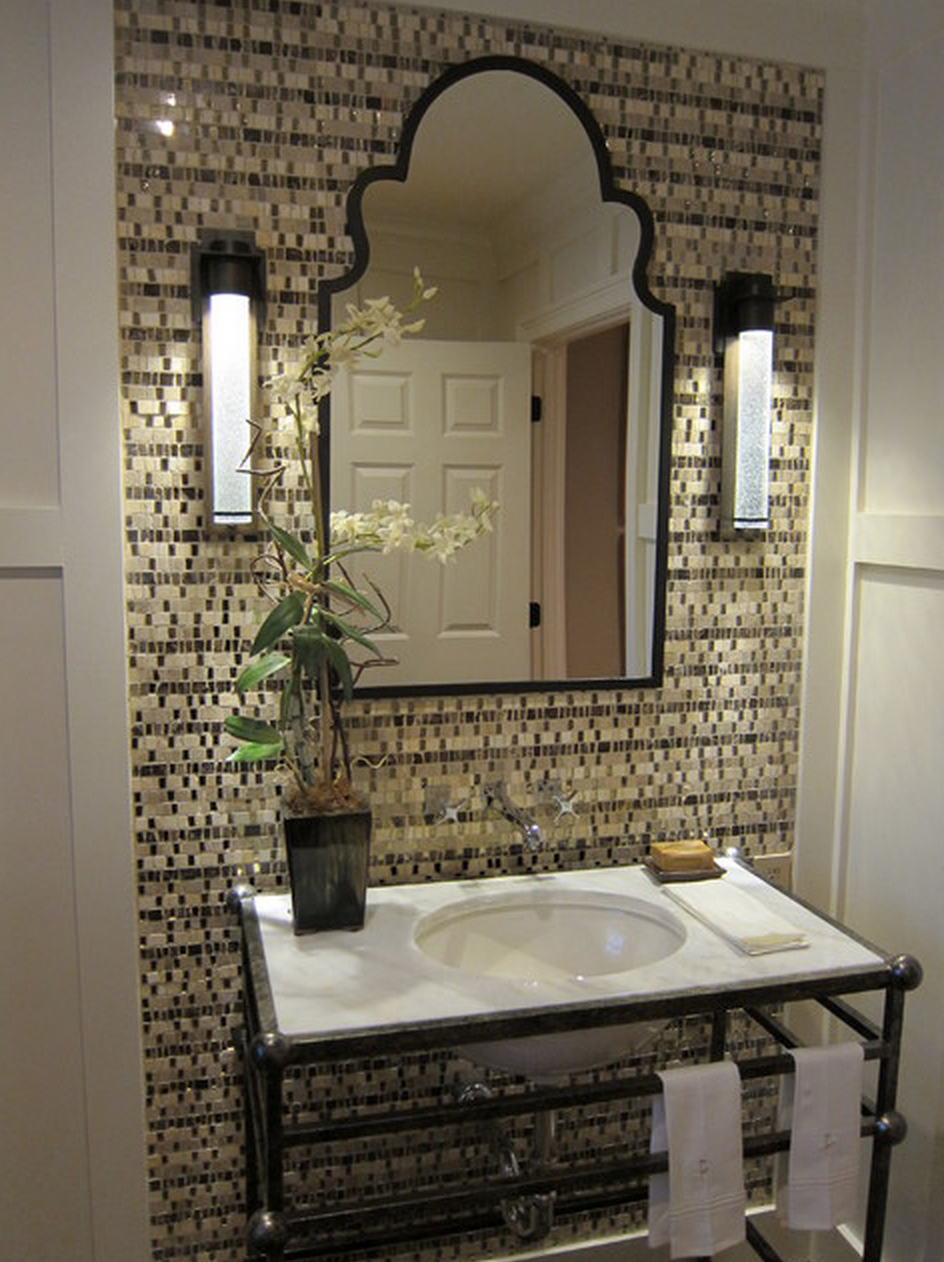Spanish Style Powder Room Spanish Style Homes Spanish Style Spanish Style Bathrooms
