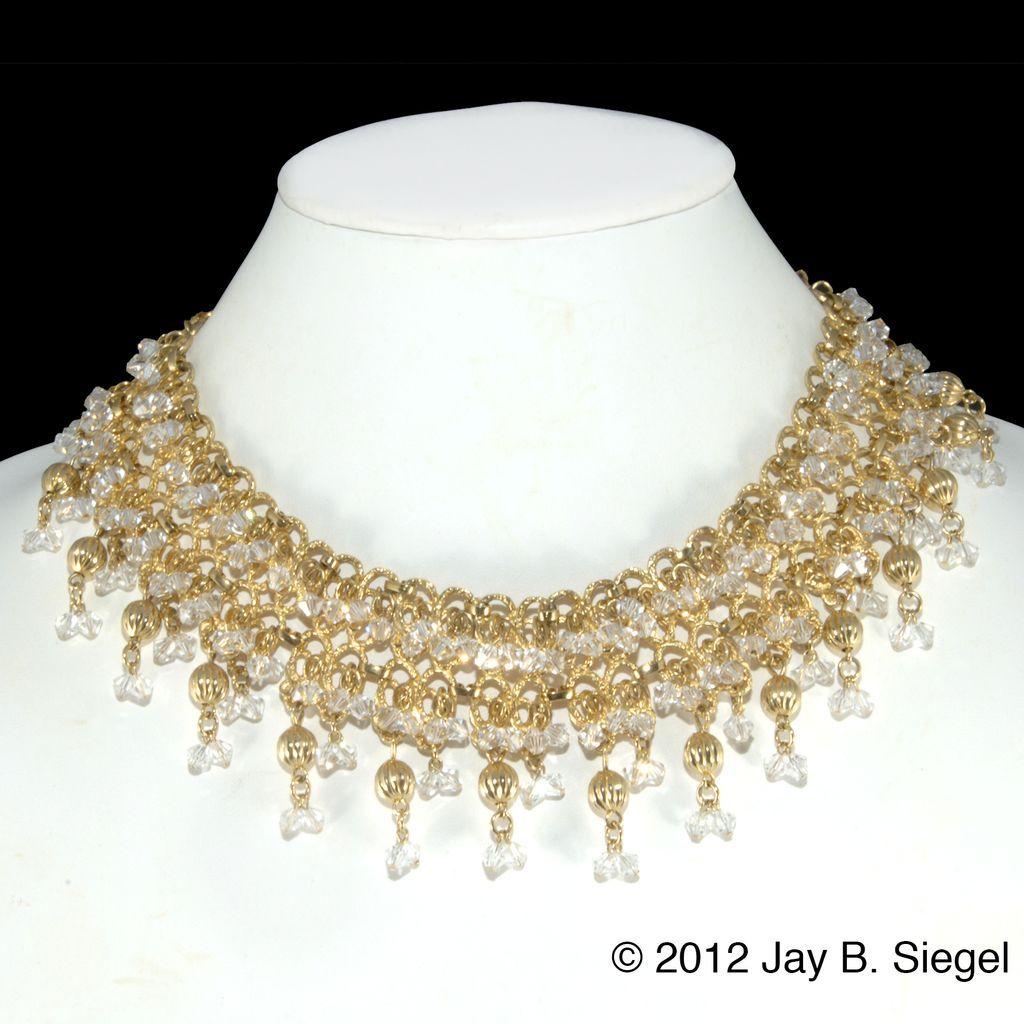 vintage necklace | GoldSmCrystalBeadNecklace10.1L.jpg