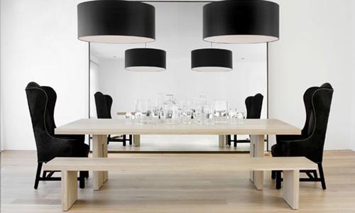 Arredativo tavolo design atelier artistico room