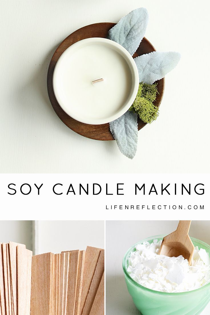 Soy Candle Making, the Easy Way