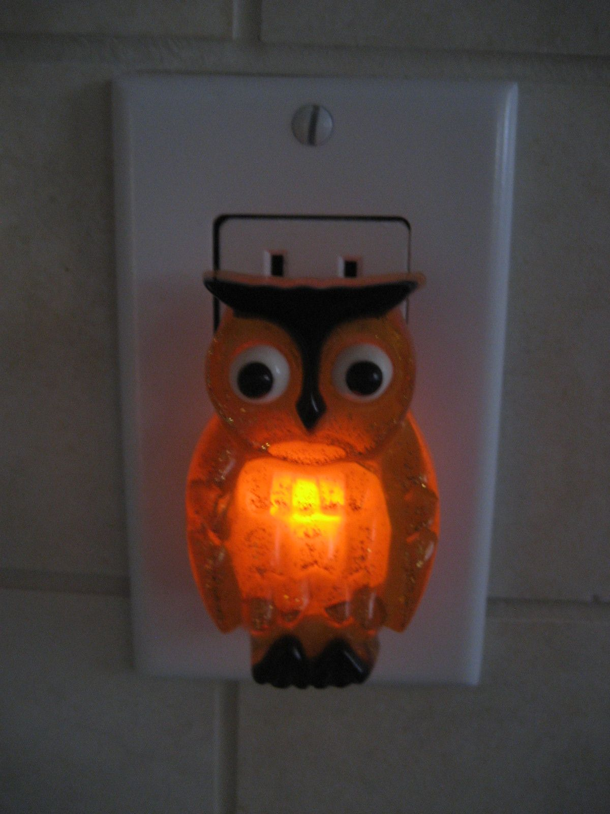 Glass Night Lights Glass Owl Night Light Had One When I Was A Kid