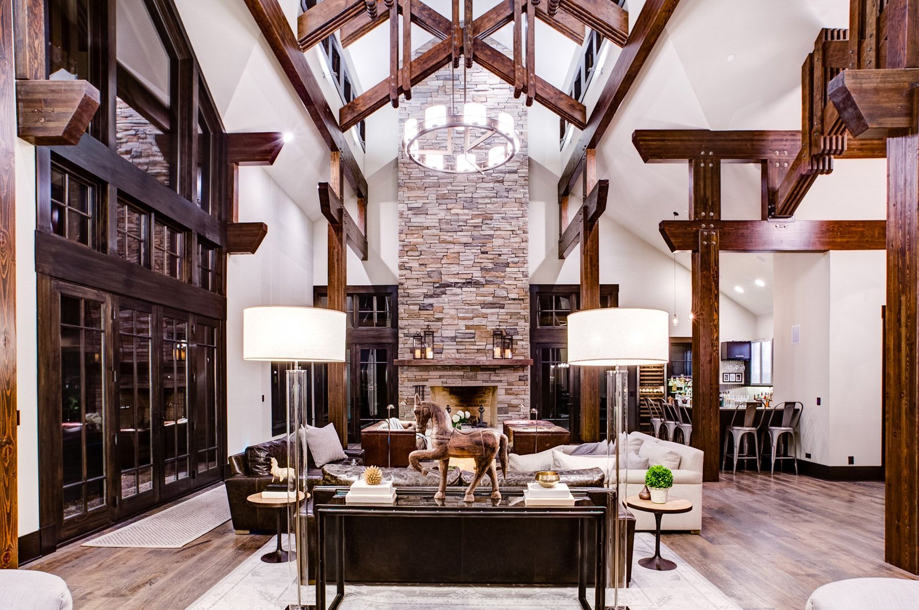 23 Creative Spaces Where Rustic Meets Modern (With images ...