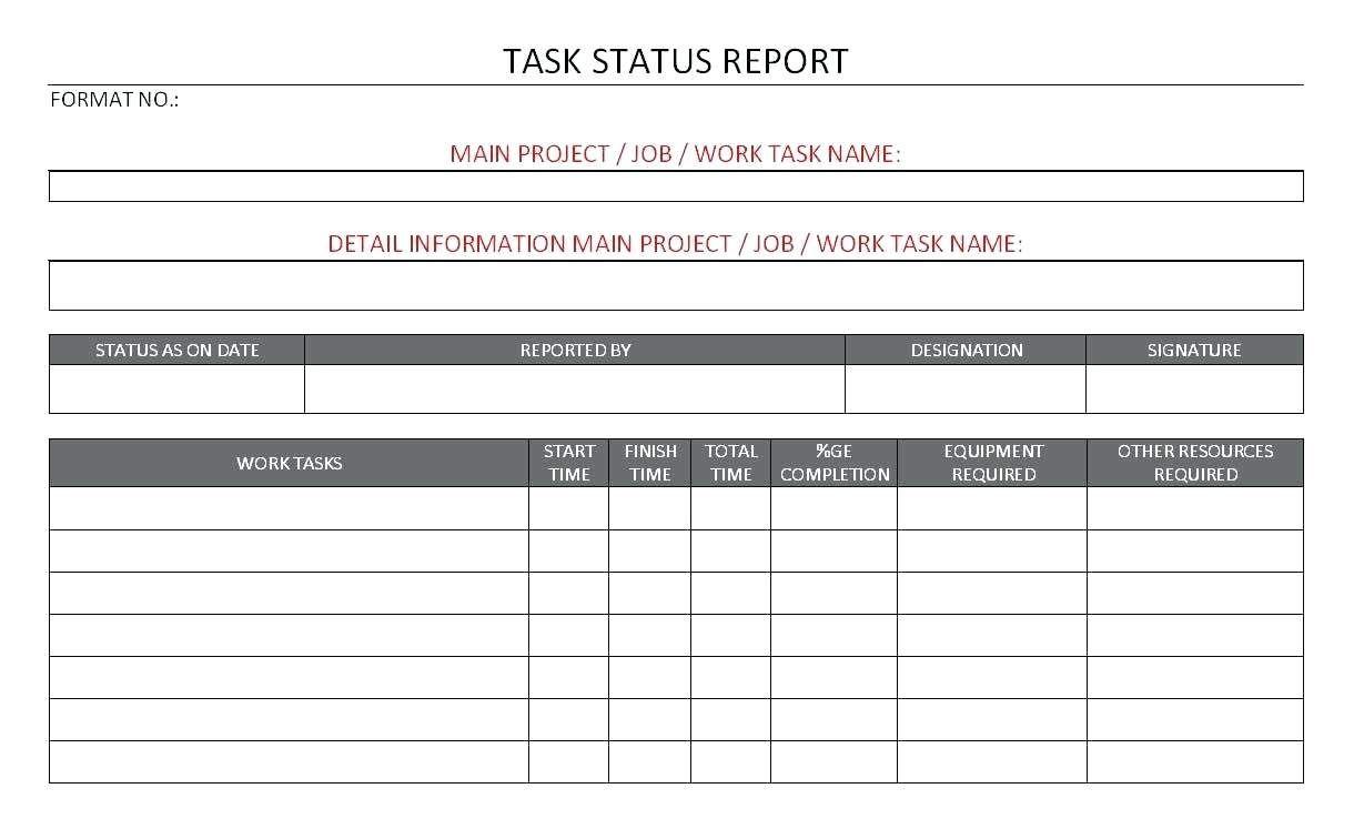 10 Project Progress Reports Templates Resume Samples Within Job Progress Report Template Best Sample Tem Progress Report Template Report Template Templates
