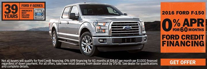 Take Advantage Of 0 Apr For 60 Months On A New 2016 F150 With Ford Credit Financing Shop Now Http Bit Ly 28jcp66 Ford F Series Ford F150