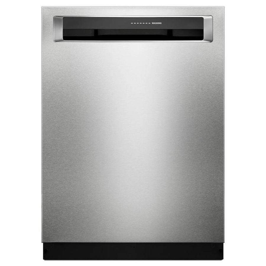 Kitchenaid 39decibel builtin dishwasher fingerprint