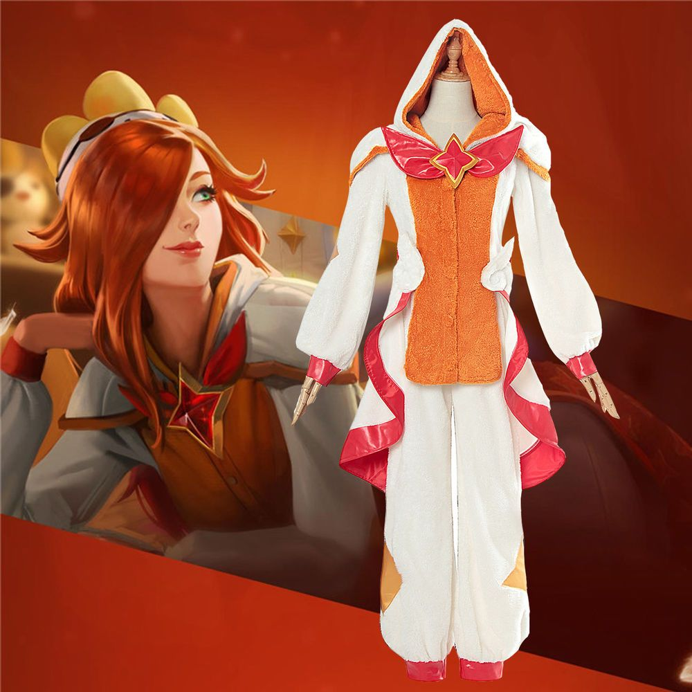 Costumes Reenactment Theatre Lol League Of Legends Miss Fortune Pajamas Star Guardian Cosplay Costume Flannel Clothing Shoes Accessories Vishawatch Com