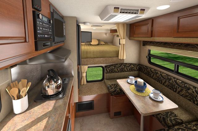 Campers Interior Simple Google Search Truck Camper