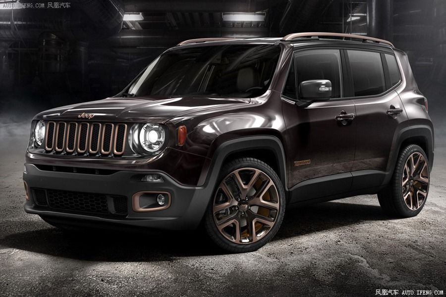 Jeep Coppers Up Renegade Apollo Special Edition For Beijing Auto