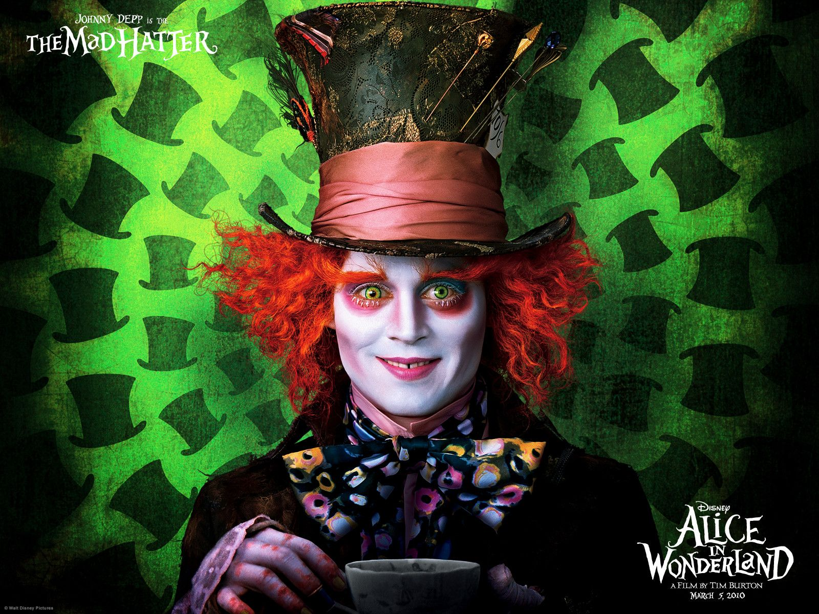 Alice in Wonderland Full HD Wallpaper and Background