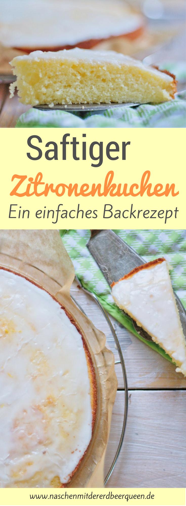 Saftiger Zitronenkuchen #breadrecipessweet