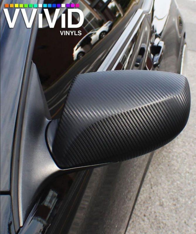 Vvivid Xpo Red Carbon Fiber Vinyl Car Wrap Decal