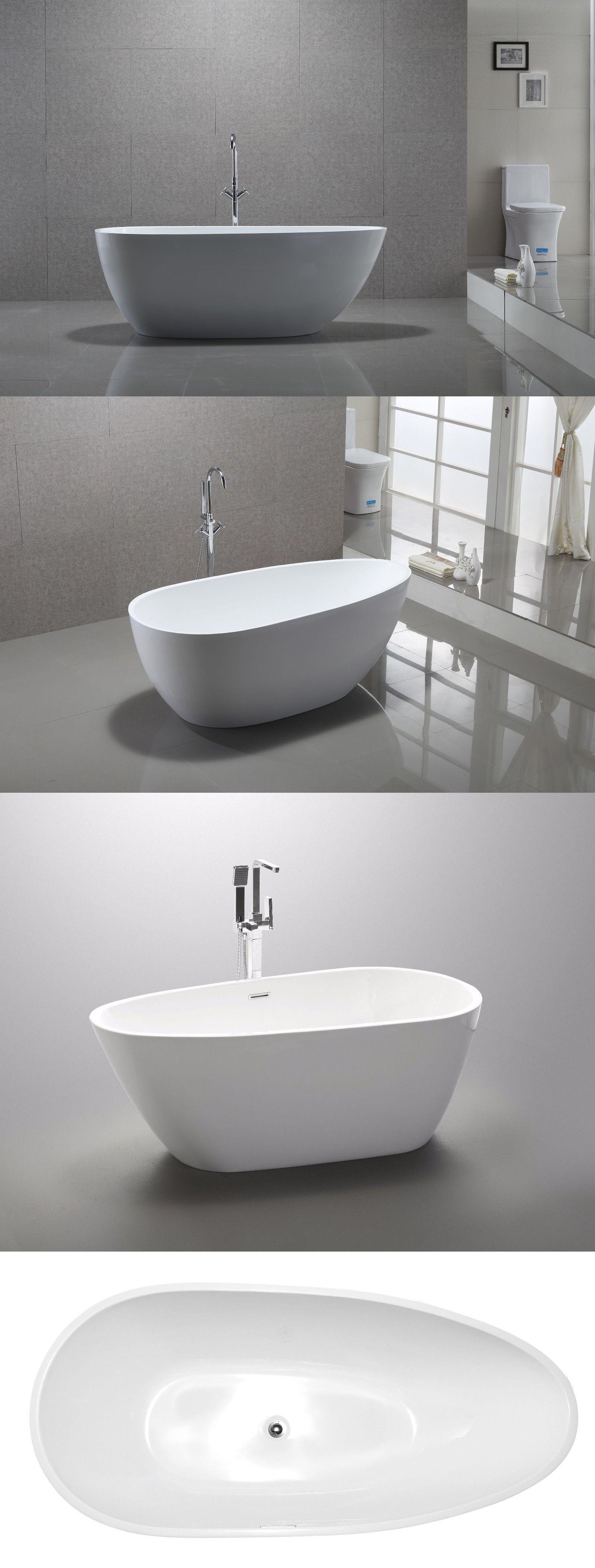 Bathtubs 42025: 59 Or 67 Vanity Art Bathroom Free Standing Acrylic ...