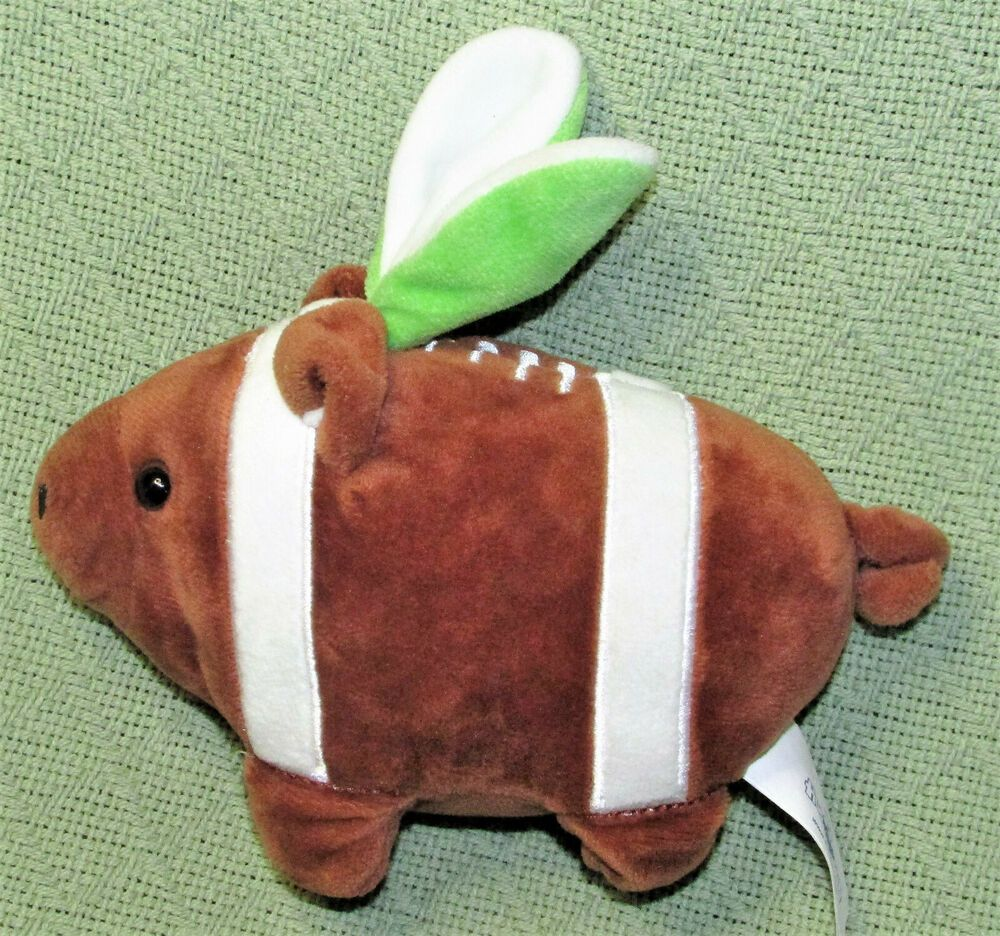 Details About Hugfun Plush Football Pig With Bunny Ears Easter