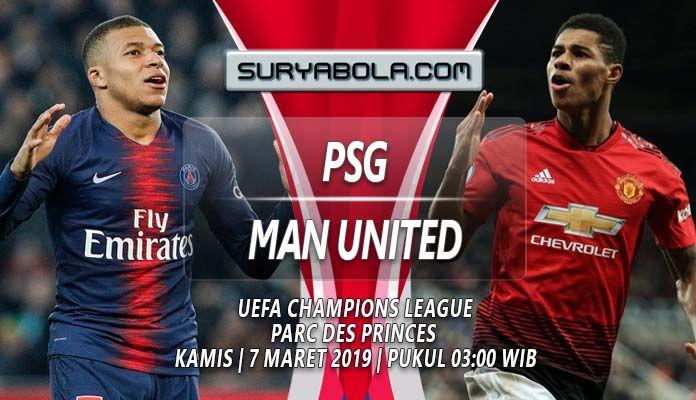 Prediksi PSG vs Manchester United 7 Maret 2019 ...