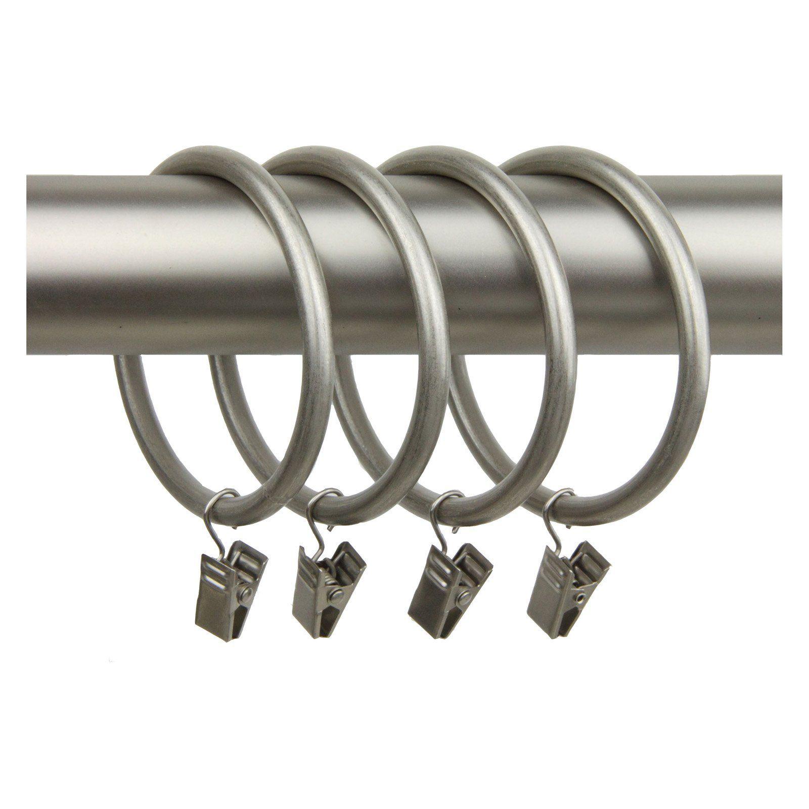 Rod Desyne 10 Curtain Clip Rings 2 5 In Inside Diameter Curtain