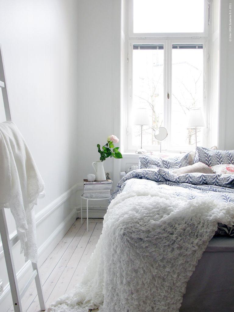 En ook de slaapkamer kun je helemaal wit aankleden voor een mooie ...