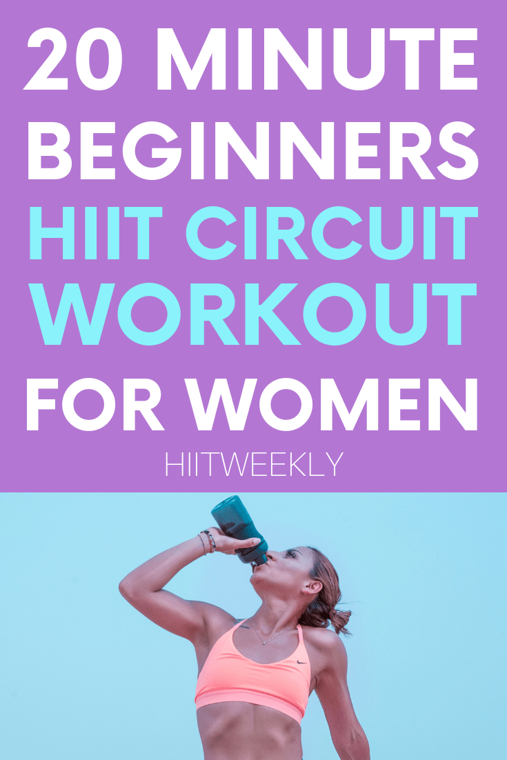 Beginners Complete Hiit Circuit Workout For Women Excercise