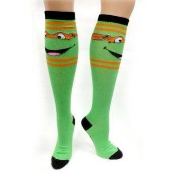 d9d58d4e58b TMNT Teenage Mutant Ninja Turtles Knee High Socks