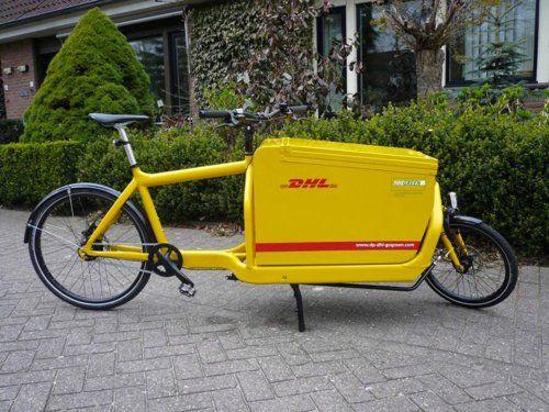 Too Cool Dhl Cargobike Fiets Fietsen